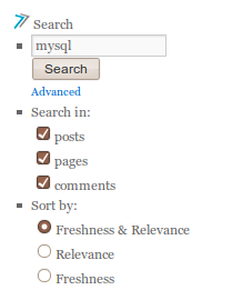 Wordpress Sphinx Search Modes